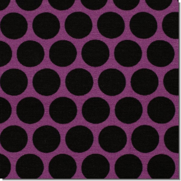 Lots of Dots by lycklig design Dot lila von Swafing Stoffe - French Terry